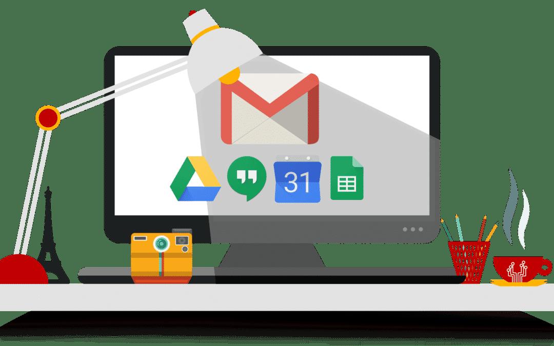 GSuite, la suite bureautique dans le cloud, par Google