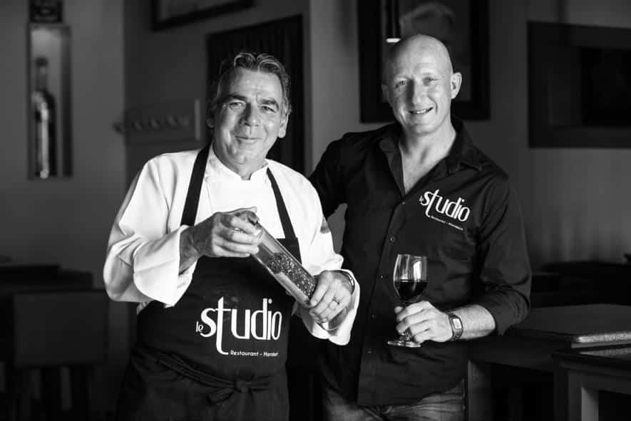 Didier et Steeve, du restaurant Le Studio à Marrakech